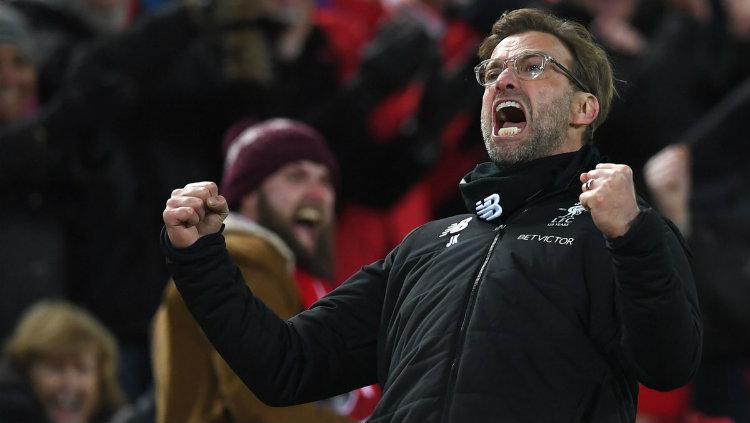 Pelatih Liverpool Jurgen Klopp. Copyright: INDOSPORT