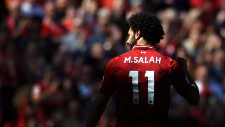 Mohamed Salah, pemain Liverpool. - INDOSPORT