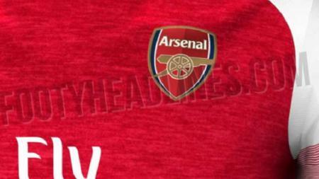 Bocoran jersey Arsenal musim 2018/19. - INDOSPORT