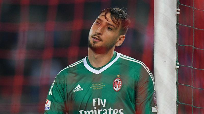 Gianluigi Donnarumma, kiper AC Milan. Copyright: INDOSPORT