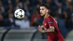 Indosport - Lorenzo Pellegrini, gelandang serang AS Roma.