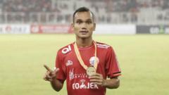 Indosport - Riko Simanjuntak, bintang Persija.
