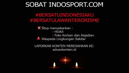 Bersatu lawan terorisme. - INDOSPORT