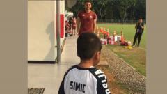 Indosport - Marko Simic melakukan aksi mengharukan.