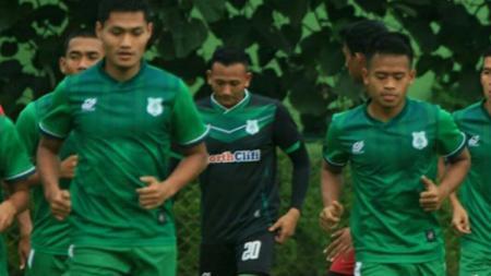 Latihan PSMS Medan. - INDOSPORT