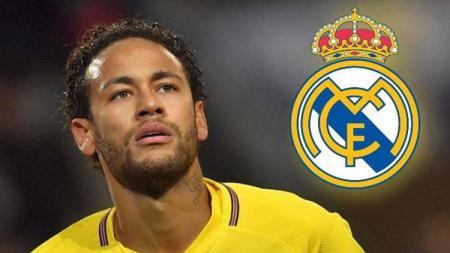 Neymar dan kepastian Real Madrid. - INDOSPORT