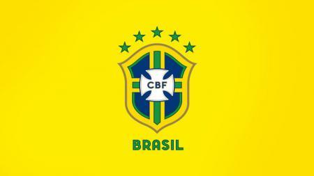 Logo Timnas Brasil. - INDOSPORT