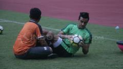 Indosport - Otavio Dutra sudah ikut latihan Persebaya.