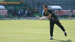 Indosport - Sahari Gultom, pelatih kiper PSMS Medan.