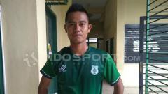 Indosport - Pemain PSMS Medan, M. Robby.