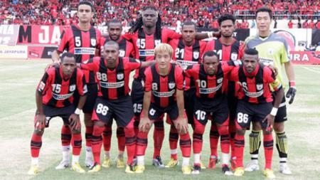 Skuat klub Liga 1 Persipura Jayapura di kompetisi Indonesia Super League (ISL) 2014. - INDOSPORT