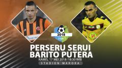 Indosport - Prediksi Perseru Serui vs Barito Putera.