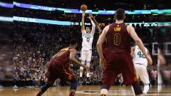 Indosport - Cleveland Cavaliers vs Boston Celtics