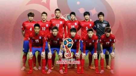 Timnas Football Korea Selatan PD 2018 - INDOSPORT