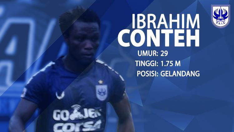 PSIS Semarang vs PS TIRA (Ibrahim Conteh). Copyright: INDOSPORT