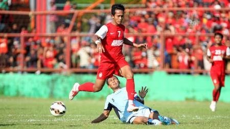 Pemain bintang klub Liga 1 Bali United yang musim ini didatangkan dari PSM Makassar ternyata terlahir dengan nama 'Rahmat' saja. - INDOSPORT