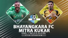Indosport - Bhayankara FC vs Mitra Kukar.