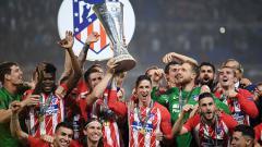 Indosport - Atletico Madrid juara Liga Europa 2017/18.
