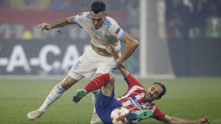 Marseille vs Atletico Madrid. - INDOSPORT