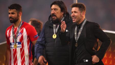 Pelatih Diego Simeone anggap hasil yang dituai Atletico Madrid saat ini masih belum seberapa dibandingkan musim 2013/14. - INDOSPORT