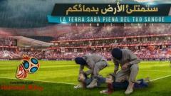 Indosport - Poster ISIS yang menampilkan Lionel Messi dan Cristiano Ronaldo.