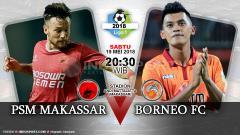 Indosport - Prediksi PSM Makassar vs Bornoe FC
