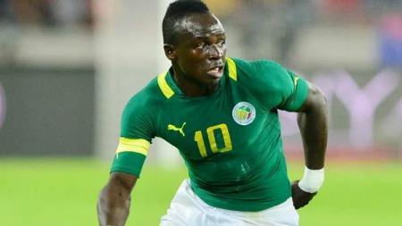 Sadio Mane, pemain Timnas Senegal di Piala Dunia 2018. - INDOSPORT