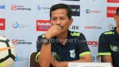 Indosport - Pelatih PSMS Medan, Djajang Nurdjaman.