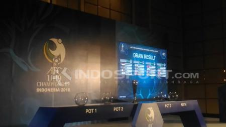 Drawing Piala Asia U-19 2018. - INDOSPORT