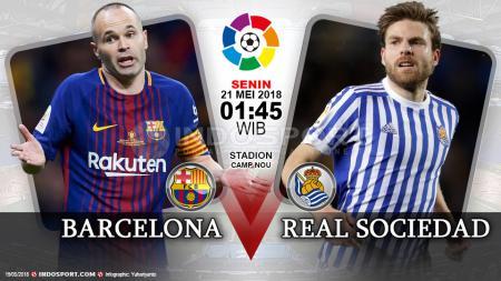 Prediksi Barcelona vs Real Sociedad - INDOSPORT