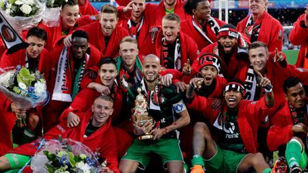 Feyenoord Rotterdam menjuarai Piala KNVB. - INDOSPORT