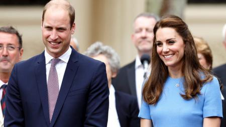Pangeran William dan Kate Middleton. - INDOSPORT