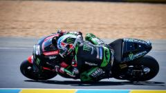 Indosport - Johann Zarco saat masih membela Monster Yamaha Tech 3.