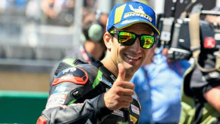 Pembalap Monster Yamaha Tech 3 Johann Zarco. - INDOSPORT