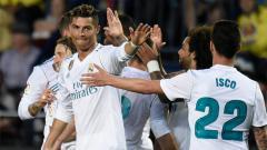 Indosport - Villareal vs Real Madrid.