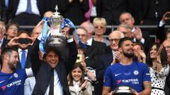 Indosport - Chelsea juarai Piala FA.