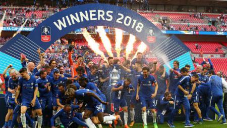 Chelsea juarai Piala FA. - INDOSPORT