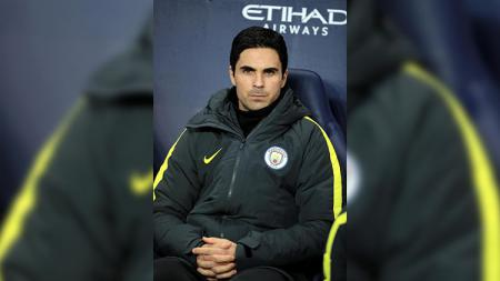 Asisten pelatih Man City, Mikel Arteta. - INDOSPORT