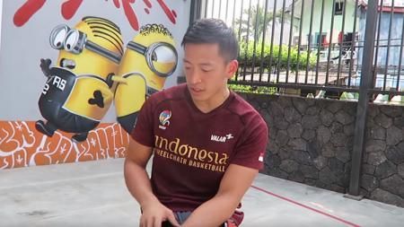 Donald Santoso, kapten Timnas Basket Kursi Roda Indonesia. - INDOSPORT