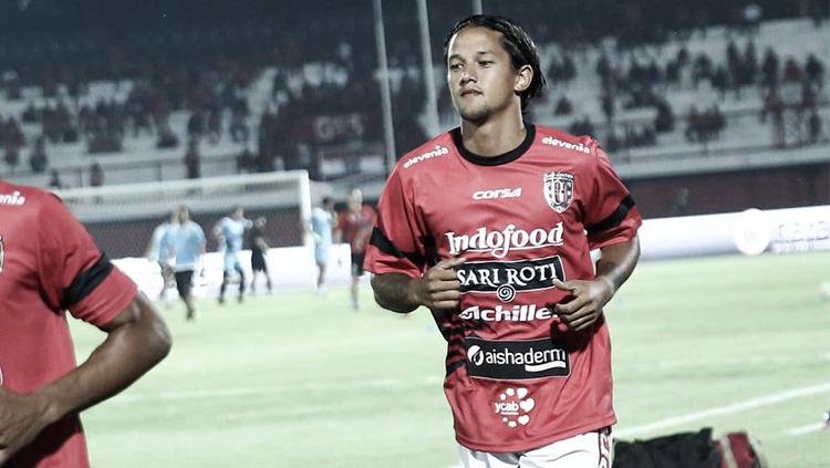 Pemain Bali United Irfan Bachdim. Copyright: baliutd.com