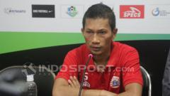 Indosport - Mantan kapten Persija Jakarta, Ismed Sofyan.