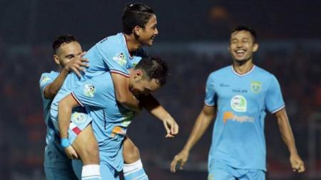 Persela Lamongan, klub Liga 1 2020, tampak memiliki relasi bilateral yang cukup romantis dengan para pemain asing berkebangsaan Jepang. - INDOSPORT