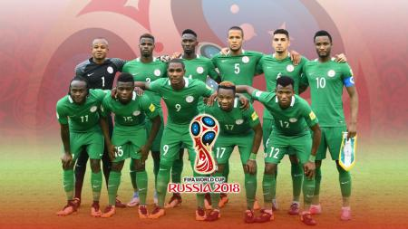 Timnas Football Nigeria PD 2018 - INDOSPORT