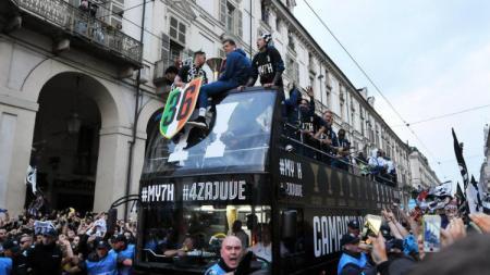 Juventus gelar parade juara. - INDOSPORT