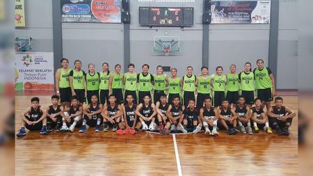 Timnas Basket Putri Indonesia. - INDOSPORT