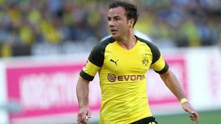 Mario Gotze, playmaker Borussia Dortmund. - INDOSPORT
