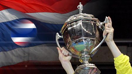 Indonesia menargetkan trofi Piala Thomas usai berhasil mencatat hattrick juara dalam ajang Badminton Asia Team Championships (BATC) 2020. - INDOSPORT