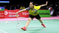 Indosport - Pebulutangkis putri Indonesia, Ruselli Hartawan.