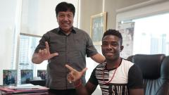 Indosport - Osas Saha bersama Gede Widiade