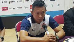 Indosport - Rudy Eka Priyambada saat masih melatih Tira-Persikabo.